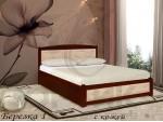 Кровать Shale Берёзка в коже