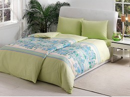 Комплект постельного белья TAC Everyday Ranforce Croise (зеленый)