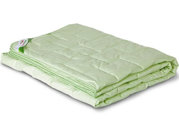 Одеяло стеганое облегченное из бамбукового волокна в тике (200гр.)
