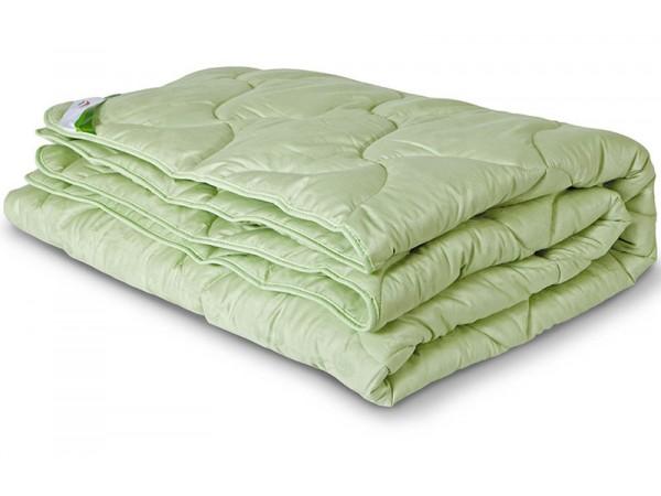 Одеяло стеганое всесезонное из эвкалиптового волокна в сатине (300гр.)