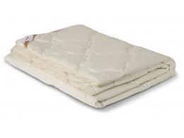 Одеяло стеганое облегченное из верблюжьей шерсти в тике (200гр.)