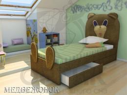 Кровать Shale Мишутка
