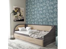 Кровать Sontelle Кэлми ЛДСП с бельевым ящиком