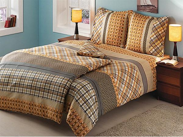 Комплект постельного белья TAC Ranforce Dandy (Коричневый)