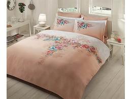 Комплект постельного белья TAC Everyday Satin Lona (Бежевый)