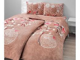 Комплект постельного белья TAC Everyday Satin Viola  (Бежевый)