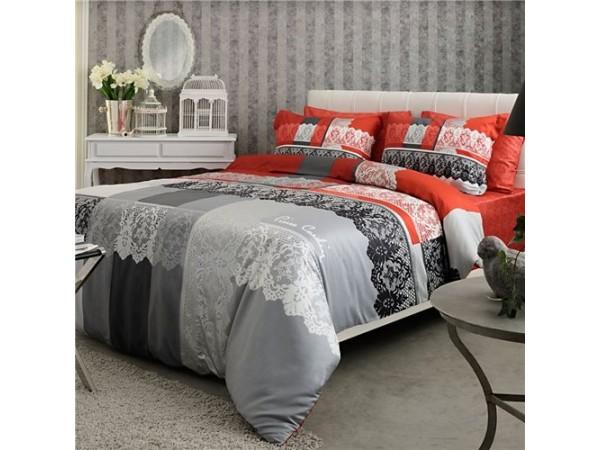 Комплект постельного белья  Pierre Cardin Terra (красный)