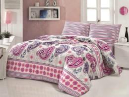 Комплект TAC Brielle Ranforce Chic (розовый) 1,5 спальный
