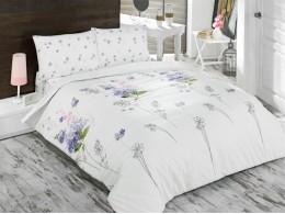 Комплект TAC Brielle Ranforce Shade (голубой) 1,5 спальный