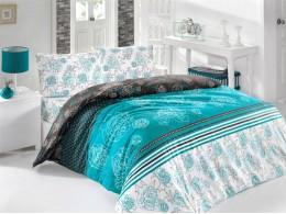 Комплект TAC Brielle Ranforce Souffle (зеленый) 1,5 спальный